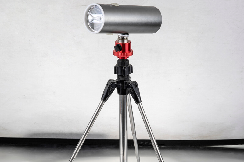 Soporte de pesca universal magnético (con luces)