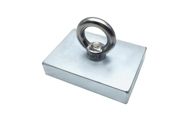 Tazón de hierro y gancho de succión-2